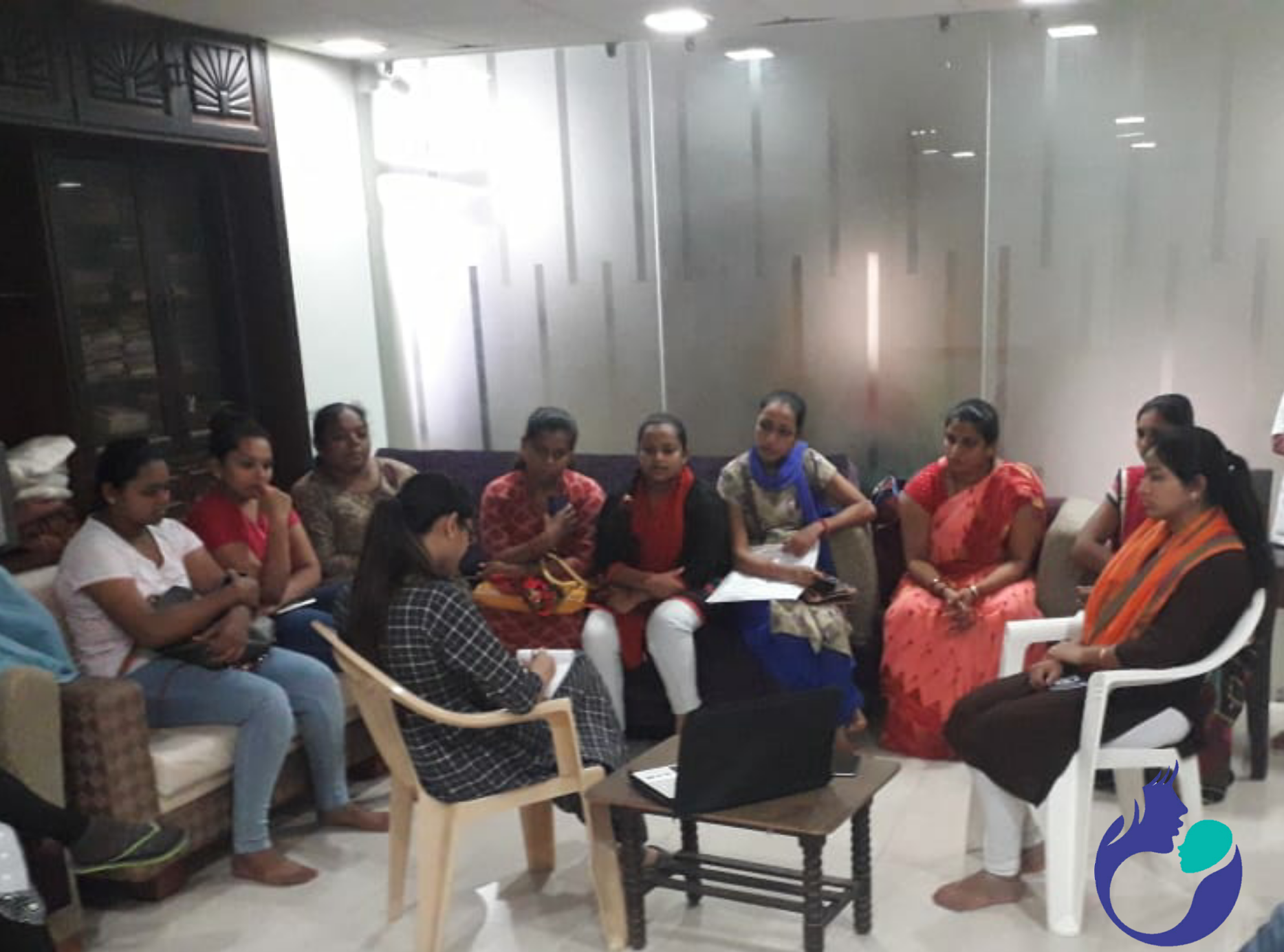Counselling session at Usha IVF in Anand, GujaratBest IVF Doctor in India